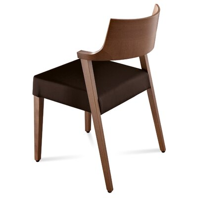 Domitalia Lirica Leather Side Chair (Set ..