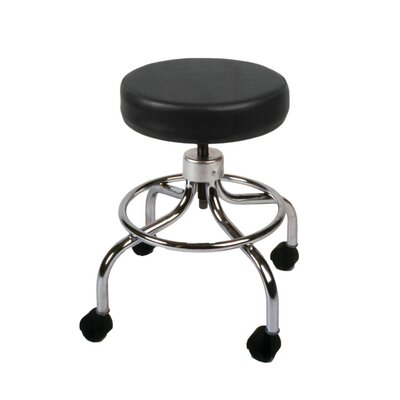 Fabrication Enterprises Adjustable Height Mechanical Mobile Stool