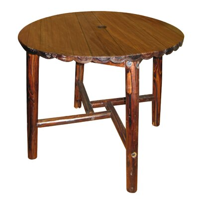 Leigh Country Char-Log Dining Table