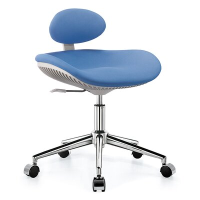 Sierra Comfort Height Adjustable Hydraulic Lab Stool
