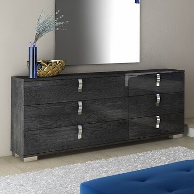 Star International Noble 6 Drawer Double Dresser
