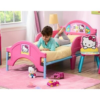 Delta Children Hello Kitty Convertible Toddler Bed