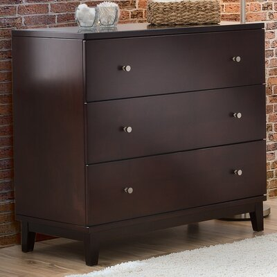 Delta Children 3 Drawer Dresser with Optional Changing Tray
