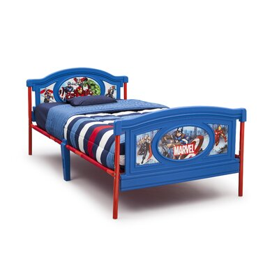 Delta Children Avengers Twin Panel Bed