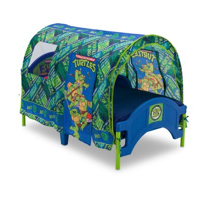Delta Children Nickelodeon Teenage Mutant Ninja Turtles Toddler Tent Bed