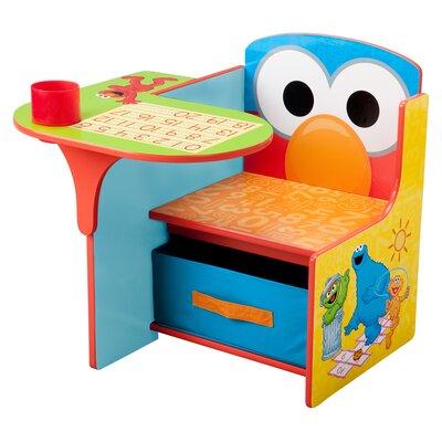 Delta Children Sesame Street Kids Desk Chair with Storage