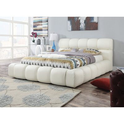 ACME Furniture Acacia Upholstery Platform Bed