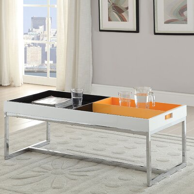 ACME Furniture Maisie Coffee Table with Tray Top