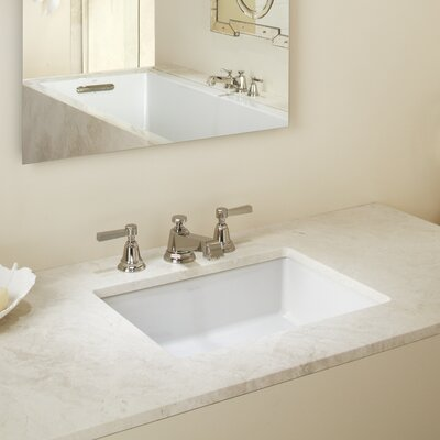 Kohler Verticyl Rectangular Undermount Bathroom Sink With Overflow Reviews Wayfair