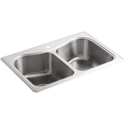 Kohler Staccato Sink : Kohler Staccato 33