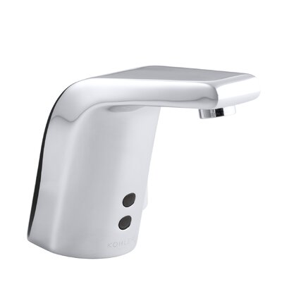 Kohler Sculpted Single Hole Touchless Ac Powered Commercial Bathroom Sink Faucet With Insight