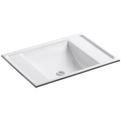 Kohler Ledges Rectangular Undermount Bathroom Sink U0026 Reviews | Wayfair