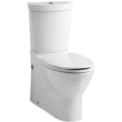 Kohler Persuade Skirted Two Piece Elongated Dual Flush Toilet With Top  Actuator U0026 Reviews | Wayfair
