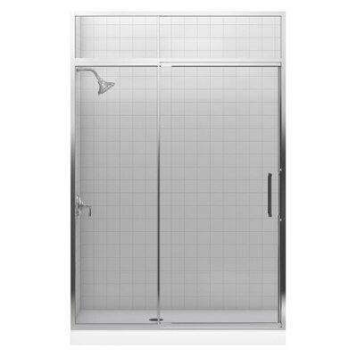 Kohler Lattis 89 5 Quot X 60 Quot Pivot Shower Door With Sliding