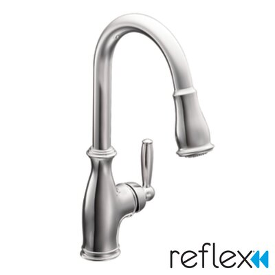 moen brantford single handle kitchen faucet amp reviews moen brantford single handle pulldown kitchen faucet at