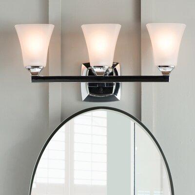 Moen voss 3 light vanity light reviews wayfair aloadofball Image collections