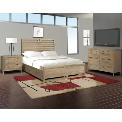 Cresent Furniture Hampton Panel Customizable Bedroom Set