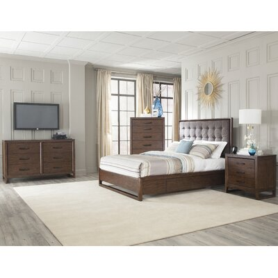 Cresent Furniture Mercer Platform Customizable Bedroom Set