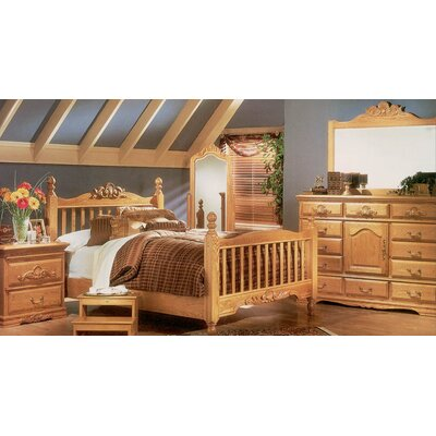 Bebe Furniture Country Heirloom Panel Customizable Bedroom Set