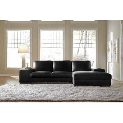 Lazzaro Leather Sussex Sectional