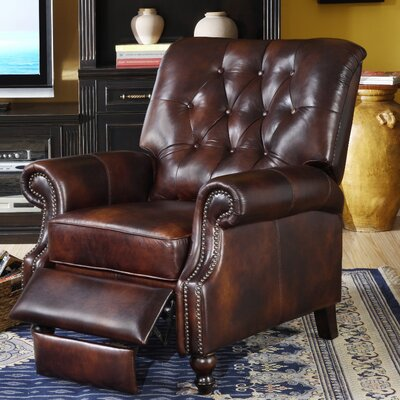 Lazzaro Leather Recliner