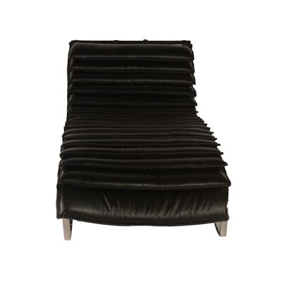 Kuznet Leather Chaise Lounge