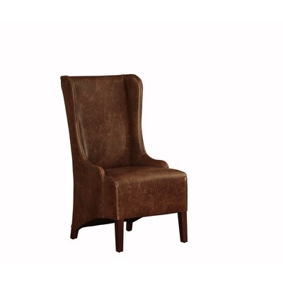 Lazzaro Leather Dining Arm Chair