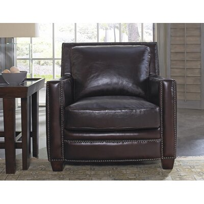 Lazzaro Leather Simplicity Arm Chair