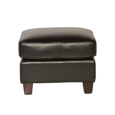 Lazzaro Leather Carlisle Leather Ottoman