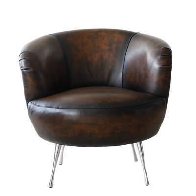 Lazzaro Leather Modena Leather Armchair