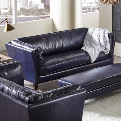 Lazzaro Leather Alberta Leather Sofa