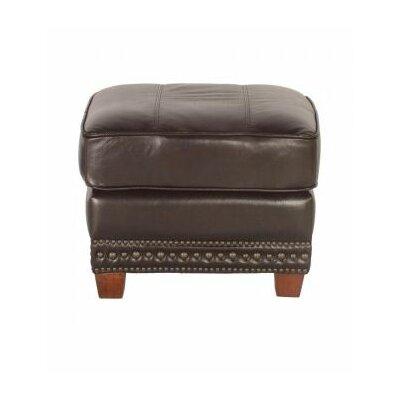 Lazzaro Leather Anna Leather Ottoman