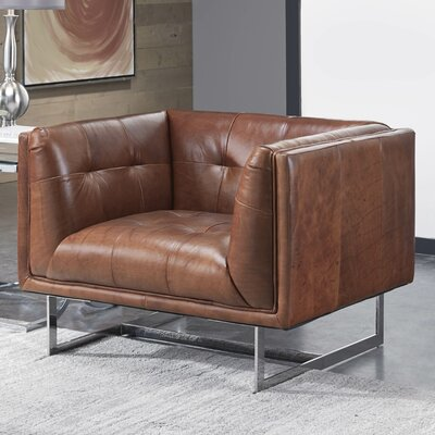 Lazzaro Leather Teague Armchair