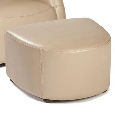 Lazzaro Leather Maryland Leather Ottoman Image
