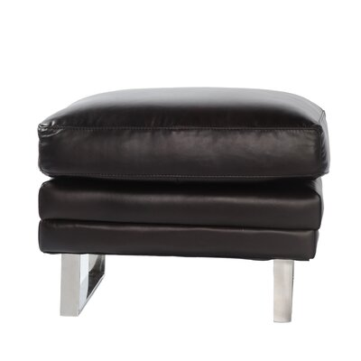 Lazzaro Leather Melbourne Leather Ottoman