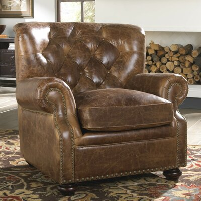 Lazzaro Leather Louis Chair