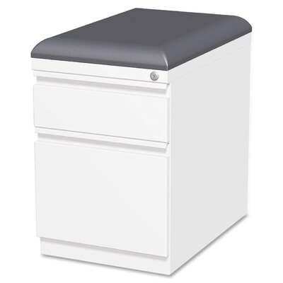 Lorell Cushion Seat Storage Mobile Pedestal File Image