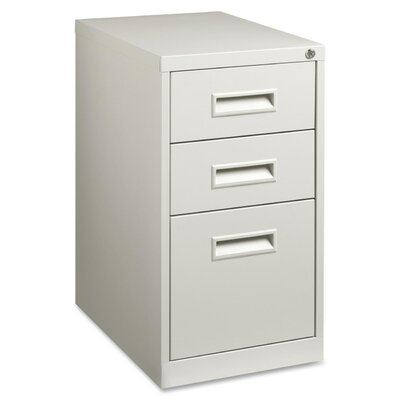 Lorell 3-Drawer Box/Box/File Mobile Pedes..