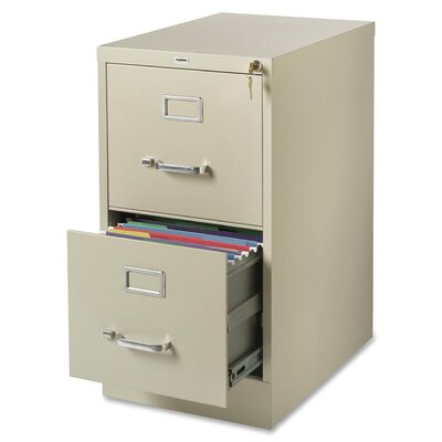 Lorell 2-Drawer Commercial-Grade  File