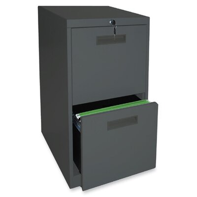 Lorell 2-Drawer File/File Mobile Pedestal..