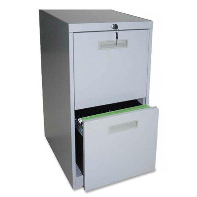 Lorell 2-Drawer File/File Mobile Pedestal Files