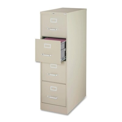 Lorell 4-Drawer  File Cabinet