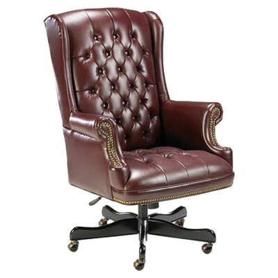 Lorell Traditional High-Back Executive Chair with Arms