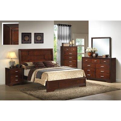 InRoom Designs Queen Panel Customizable Bedroom Set