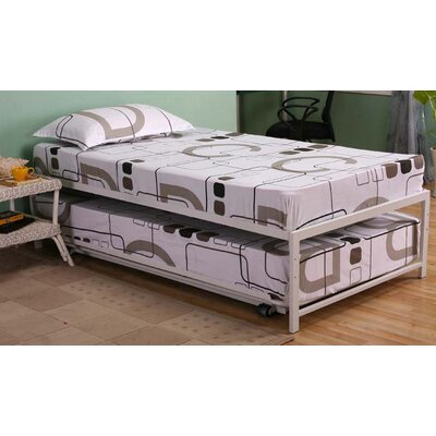 InRoom Designs Twin Platform Customizable Bedroo..