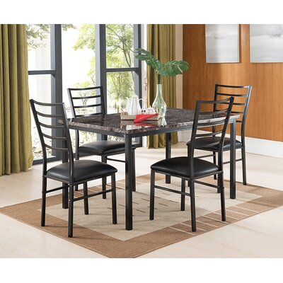 Darby Home Co 5 Piece Dining Set