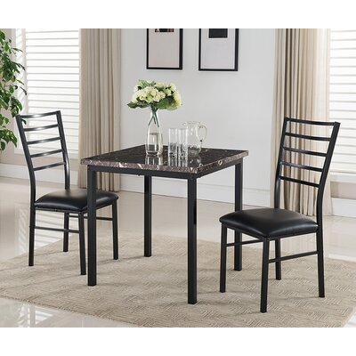 Darby Home Co 3 Piece Dining Set