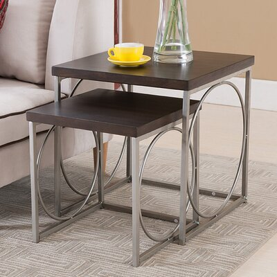 Latitude Run Reagan 2 Piece Nesting Tables