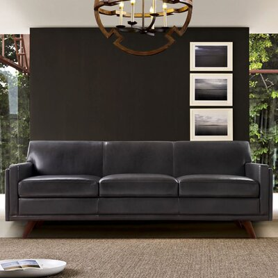 Moroni Milo Leather Sofa