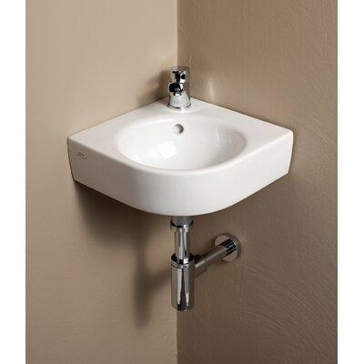 Bissonnet Elements Comprimo Corner Bathroom Sink Wayfair